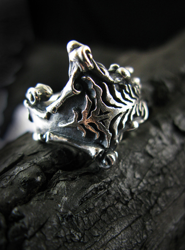 Z-Grimoire silver ring