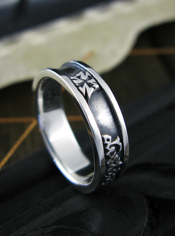 Destiny-L1 silver ring